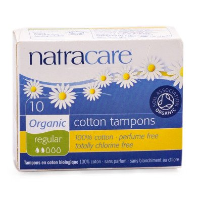 Natracare Organic Cotton Regular Tampons 10