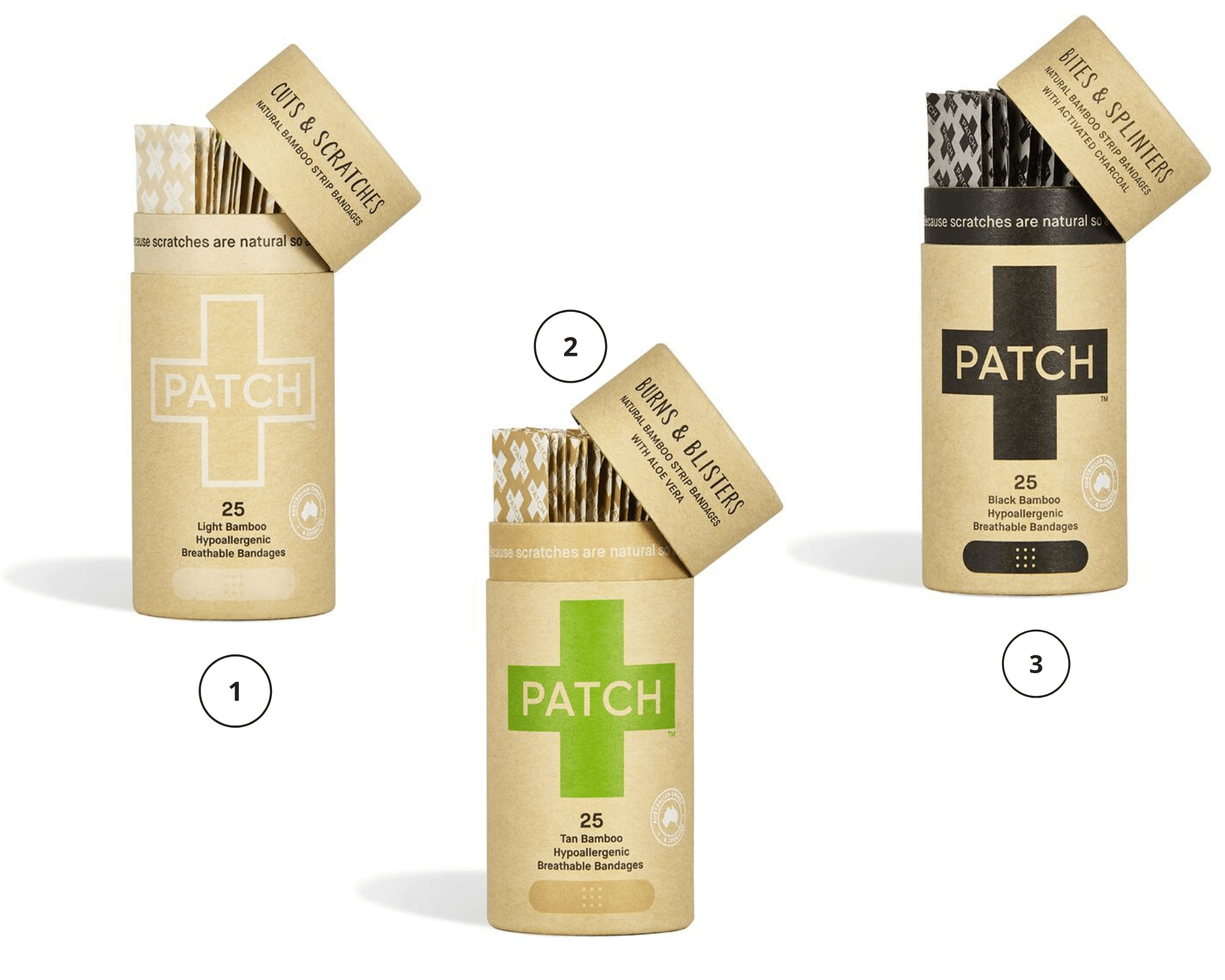PATCH bandages Clean Beauty Products South Africa5
