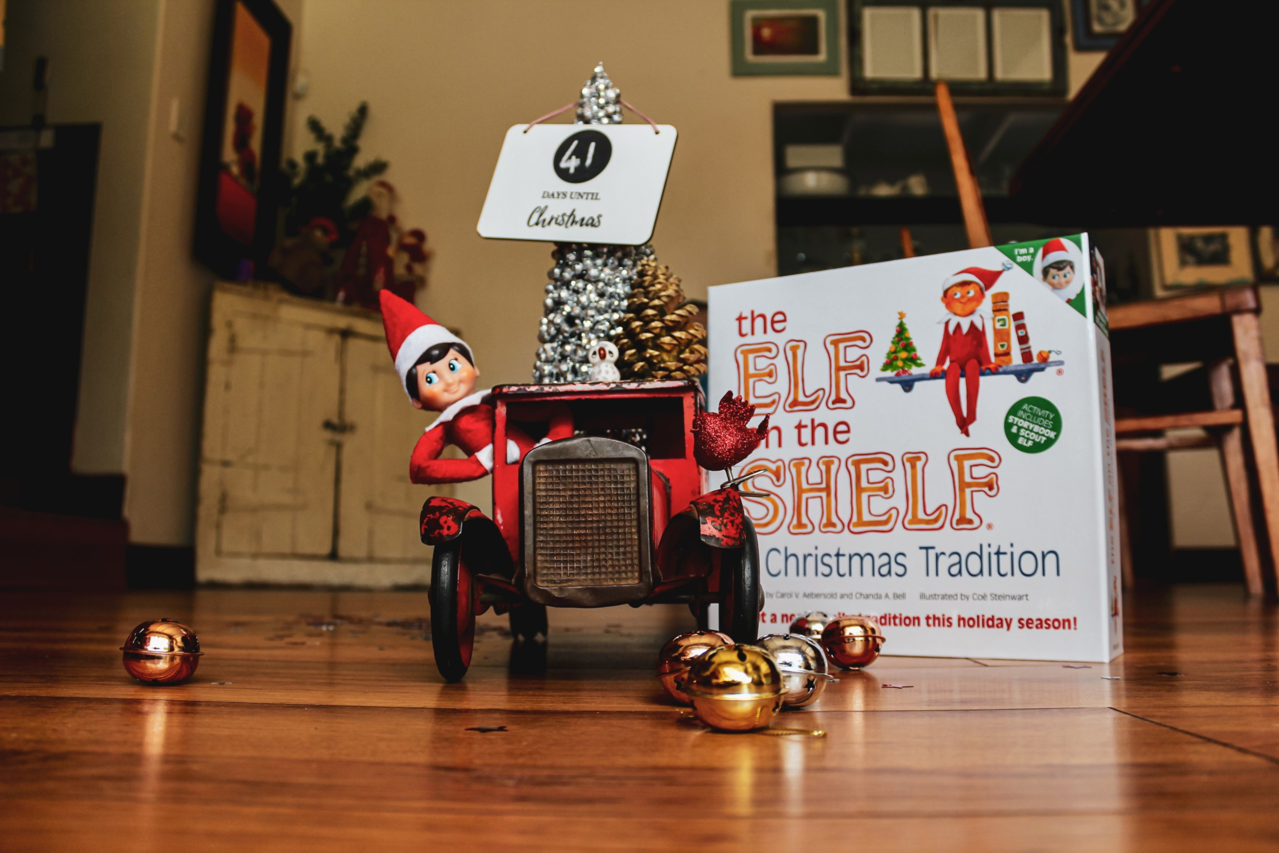 Another Year of Elf on the Shelf and we can't wait!