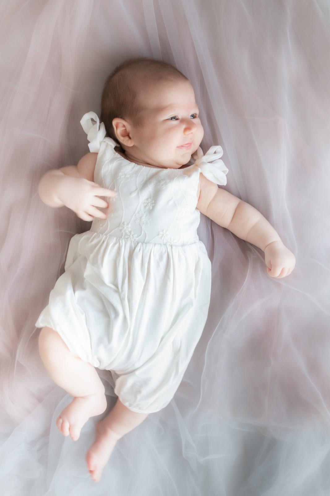 Just A Mamma Everli Baby Luna Romper