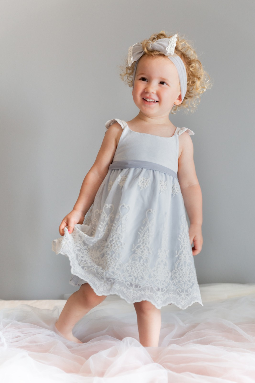 Just A Mamma Everli Baby Olivis Dress