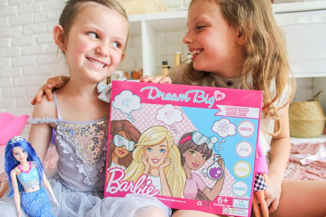 Just A Mamma barbie Dream Big Board Game Review