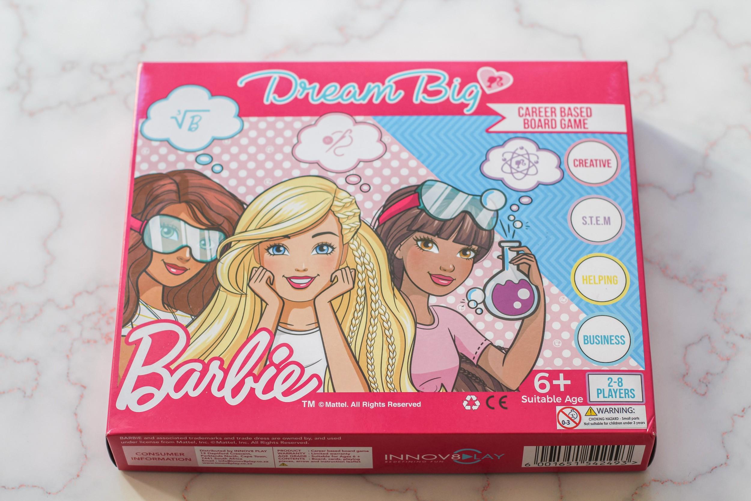 Barbie Dream Big Board Game Review