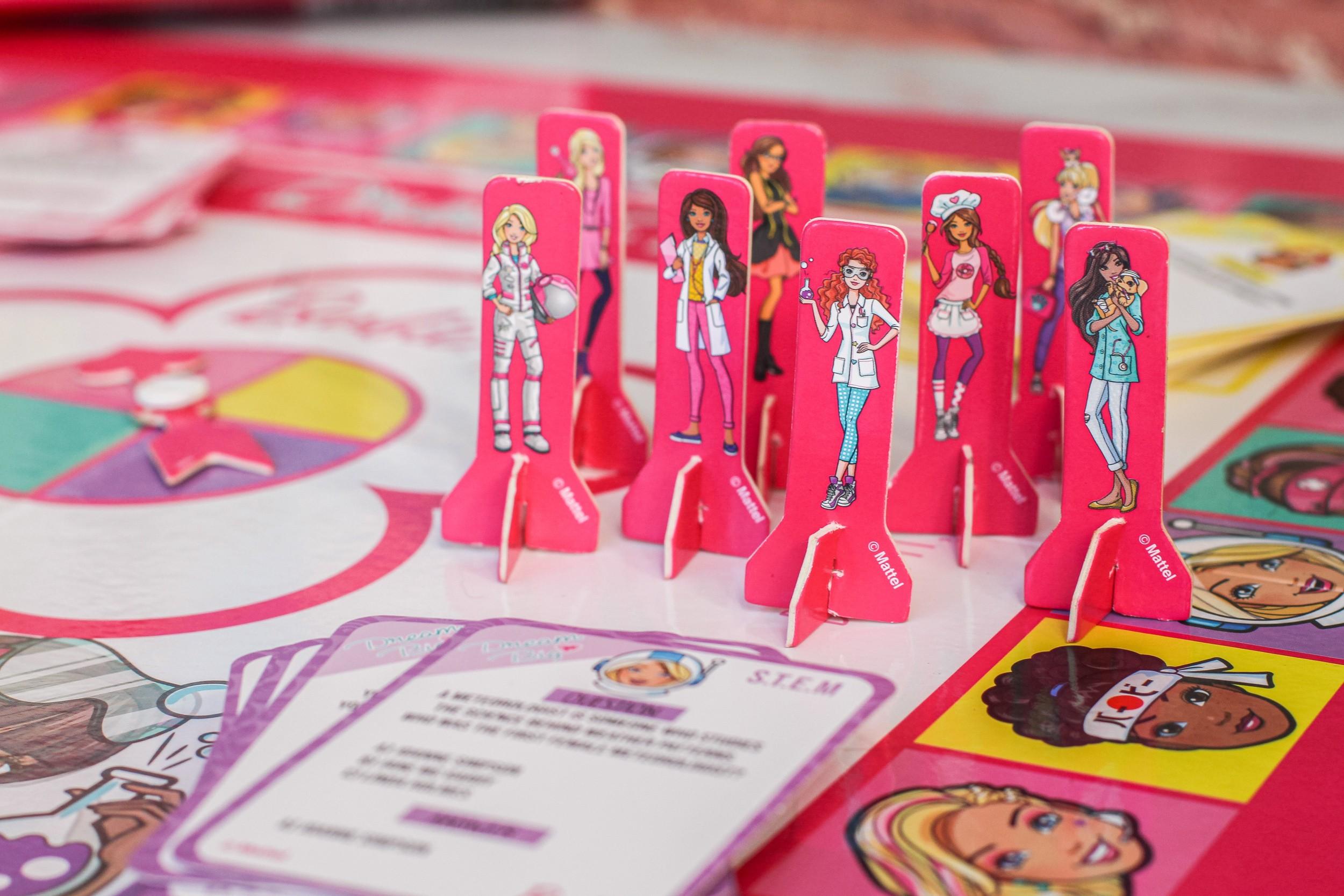 Barbie Dream Big Board Game