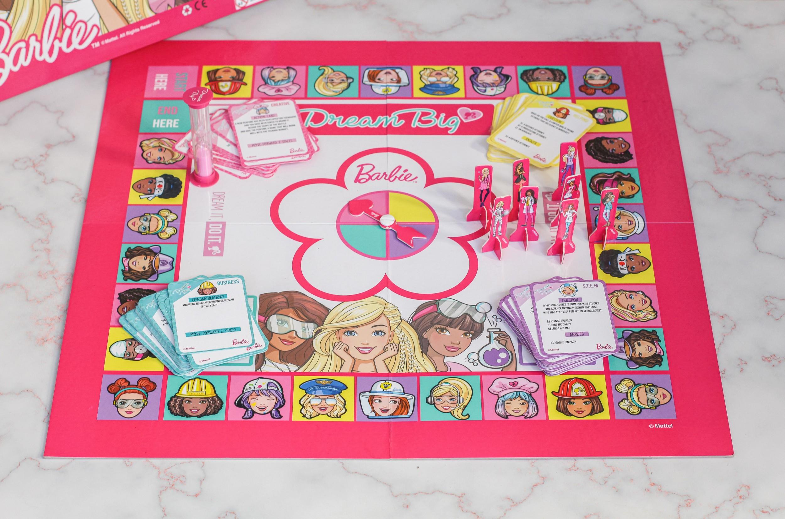 Just A Mamma barbie Dream Big Board Game 9689
