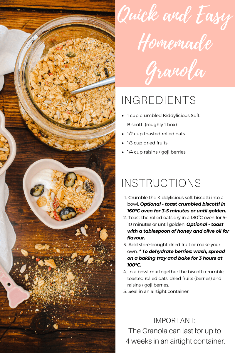 Quick And Easy Homemade Granola