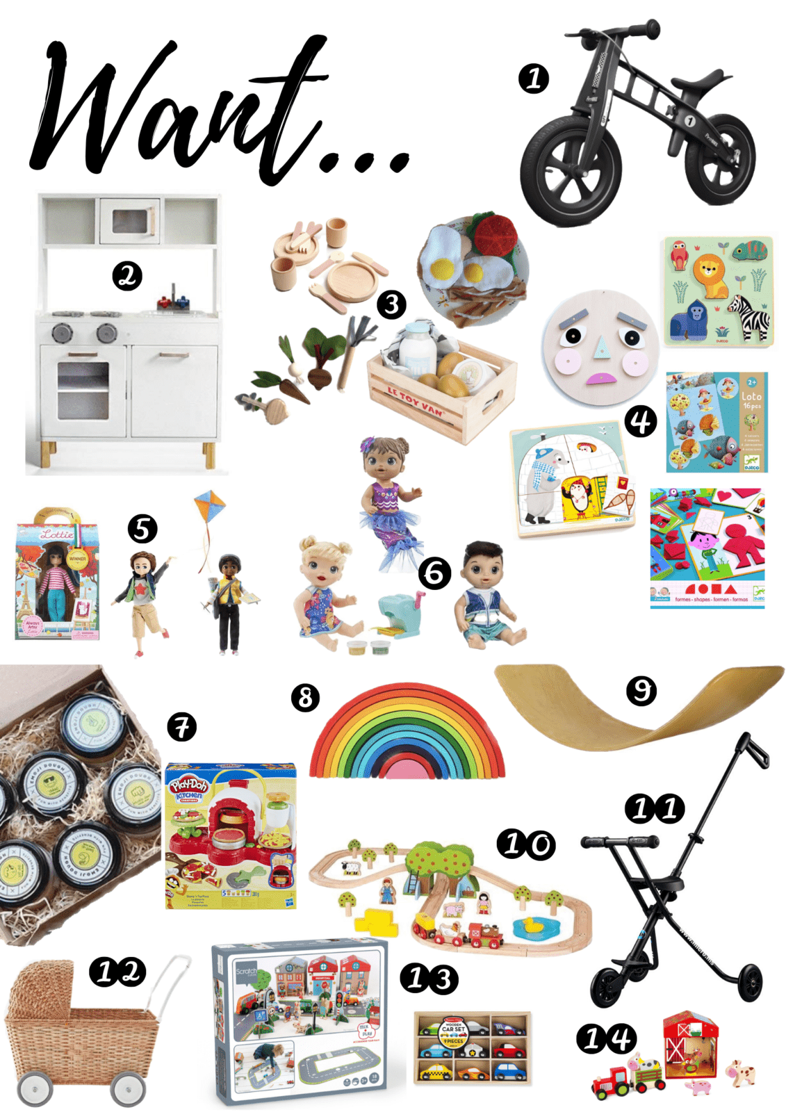 Want Need Wear And Read Gift Guides For Toddlers 1