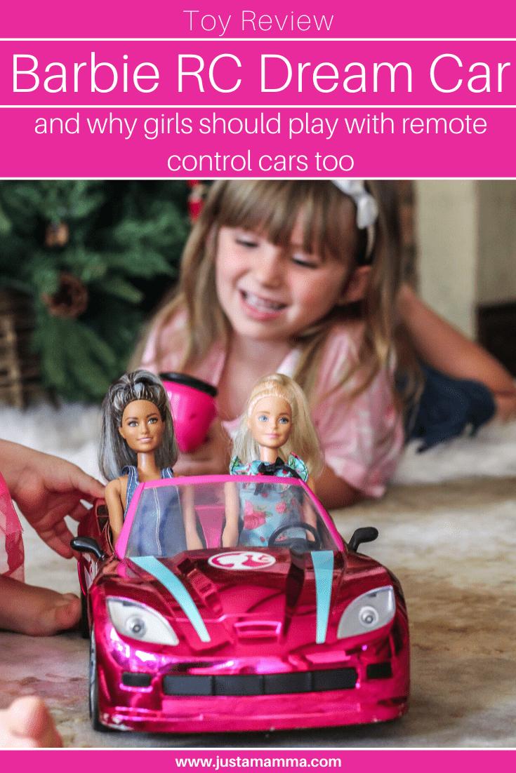 Barbie Rc Dream Car Review