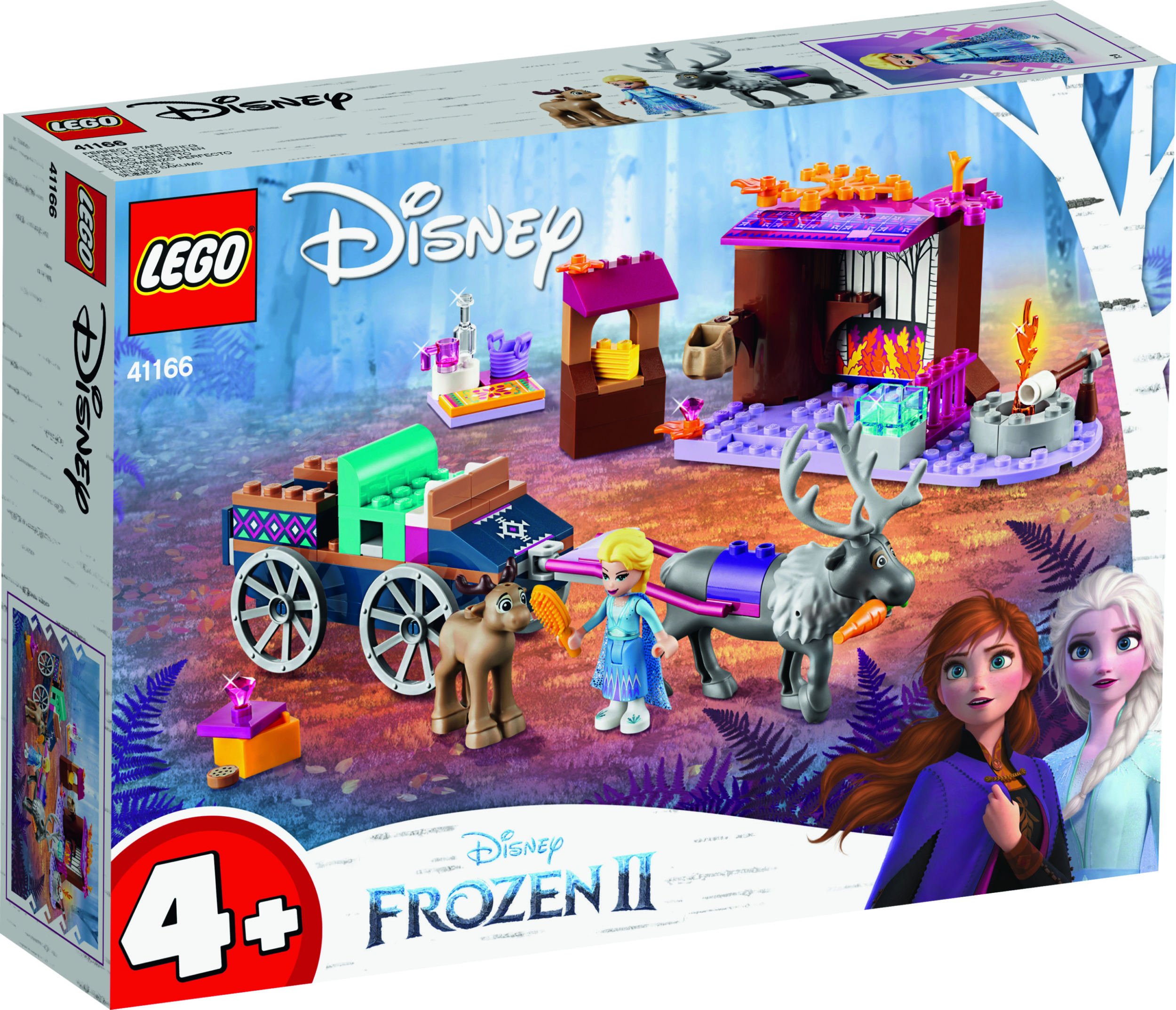 Frozen 2 Lego Elsas Wagon Adventure Set