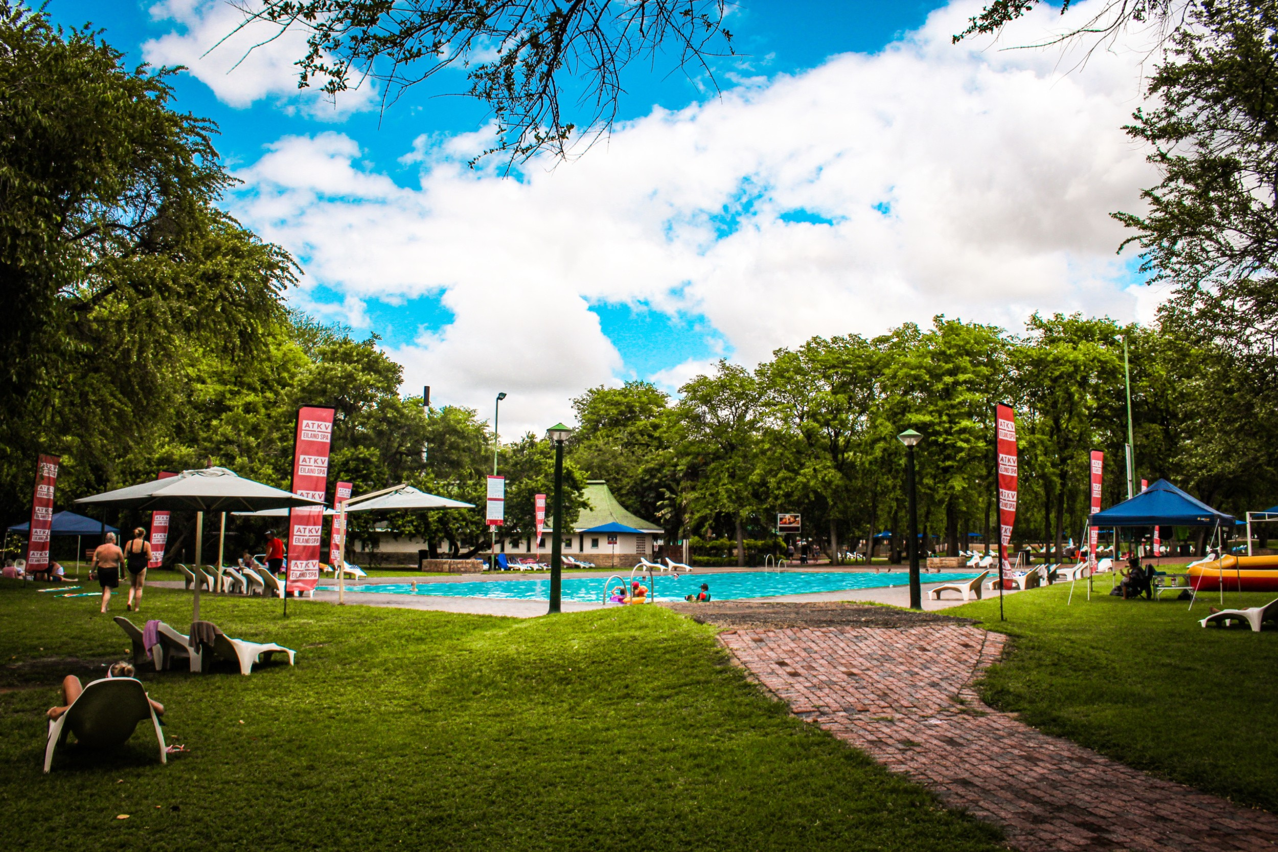 Eiland Spa Family Resort In Limpopo