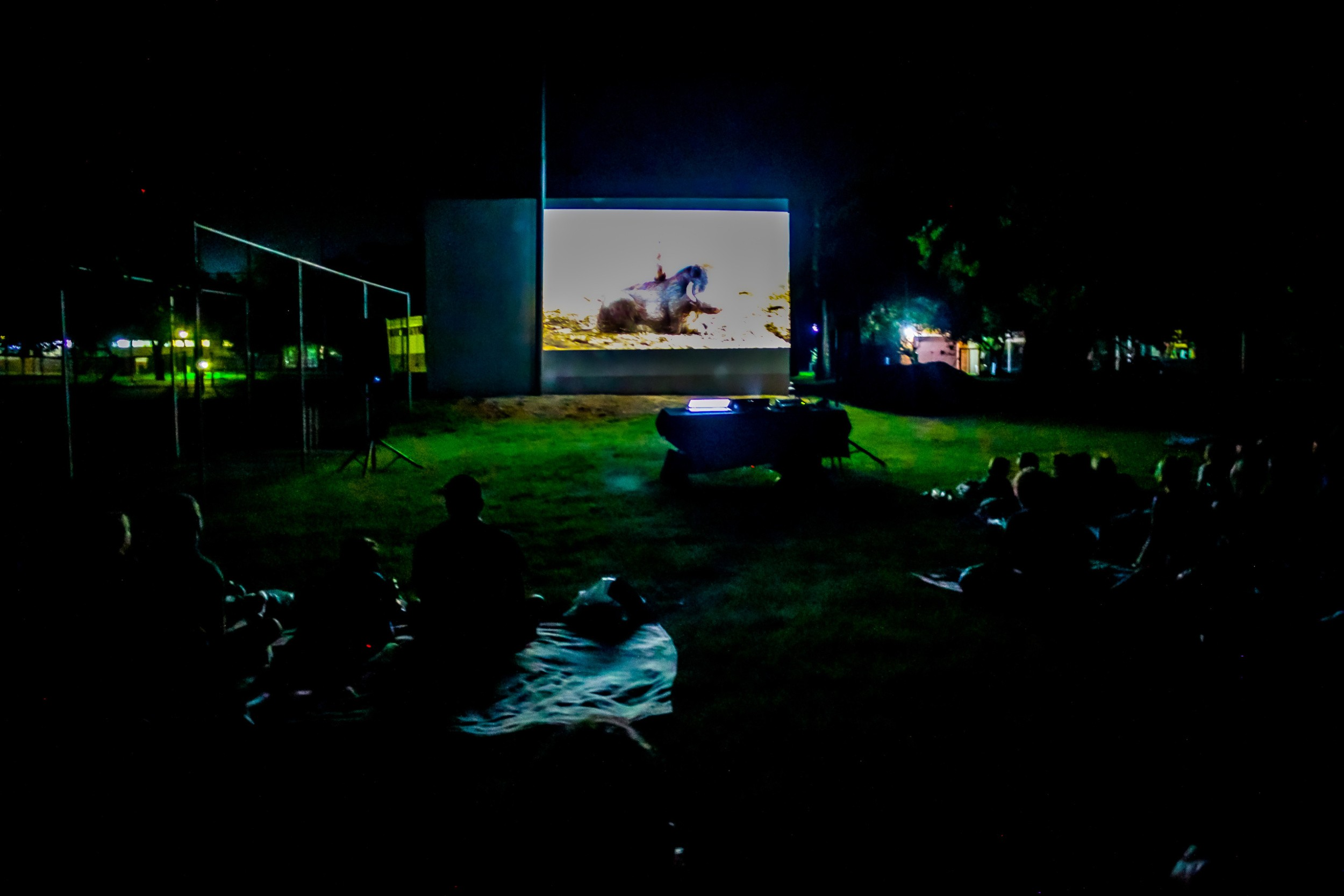 Outdoor Cinema At Atkv Eiland Spa