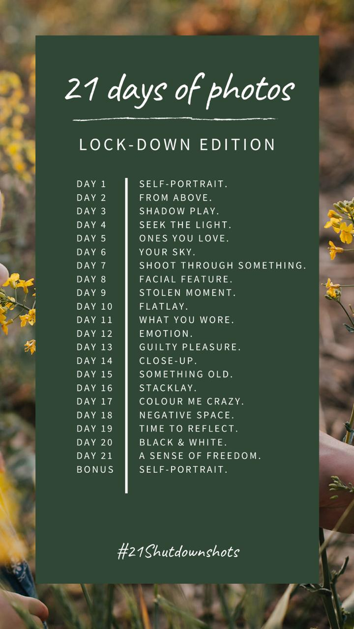 21 Days Of Photos Challenge