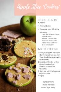 Apple Slice Cookie Recipe
