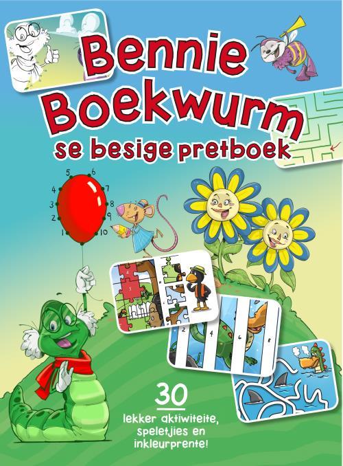 Bennie Boekwurm Se Besige Pretboek