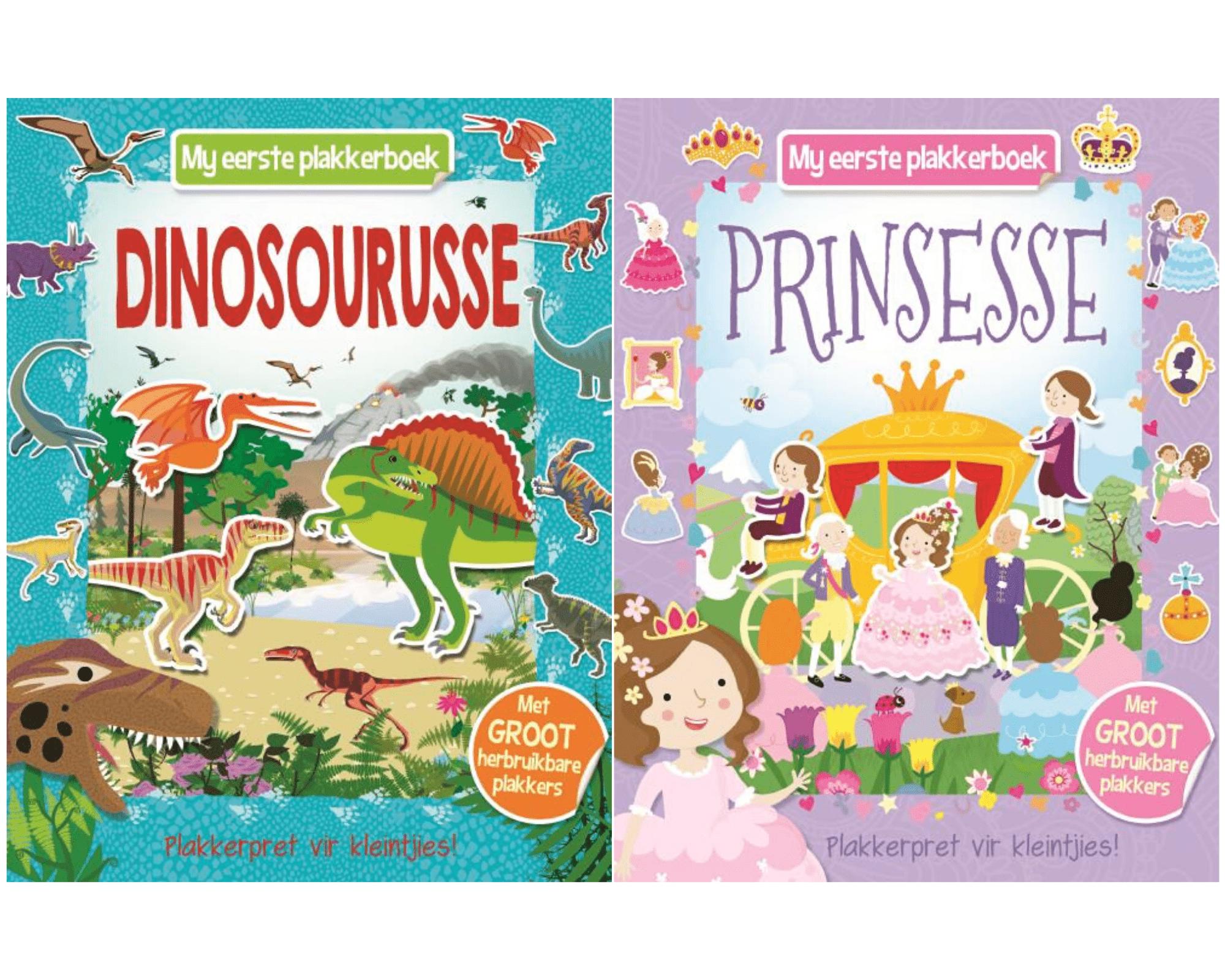 My Eerste Plakkerboek Prinsesse En Dinosourusse
