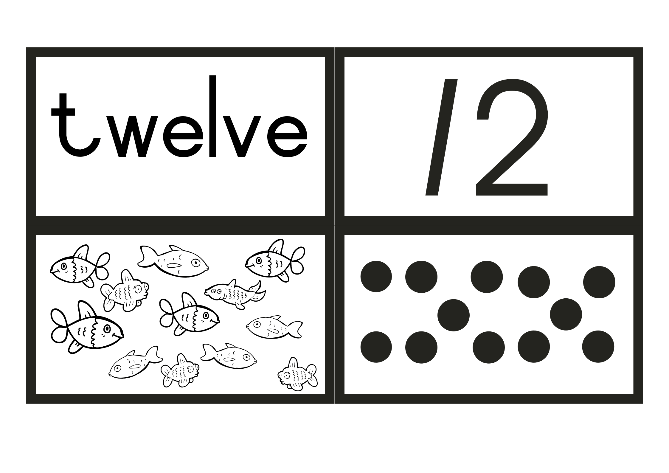 Free Printable Number Flash Cards 1 To 20