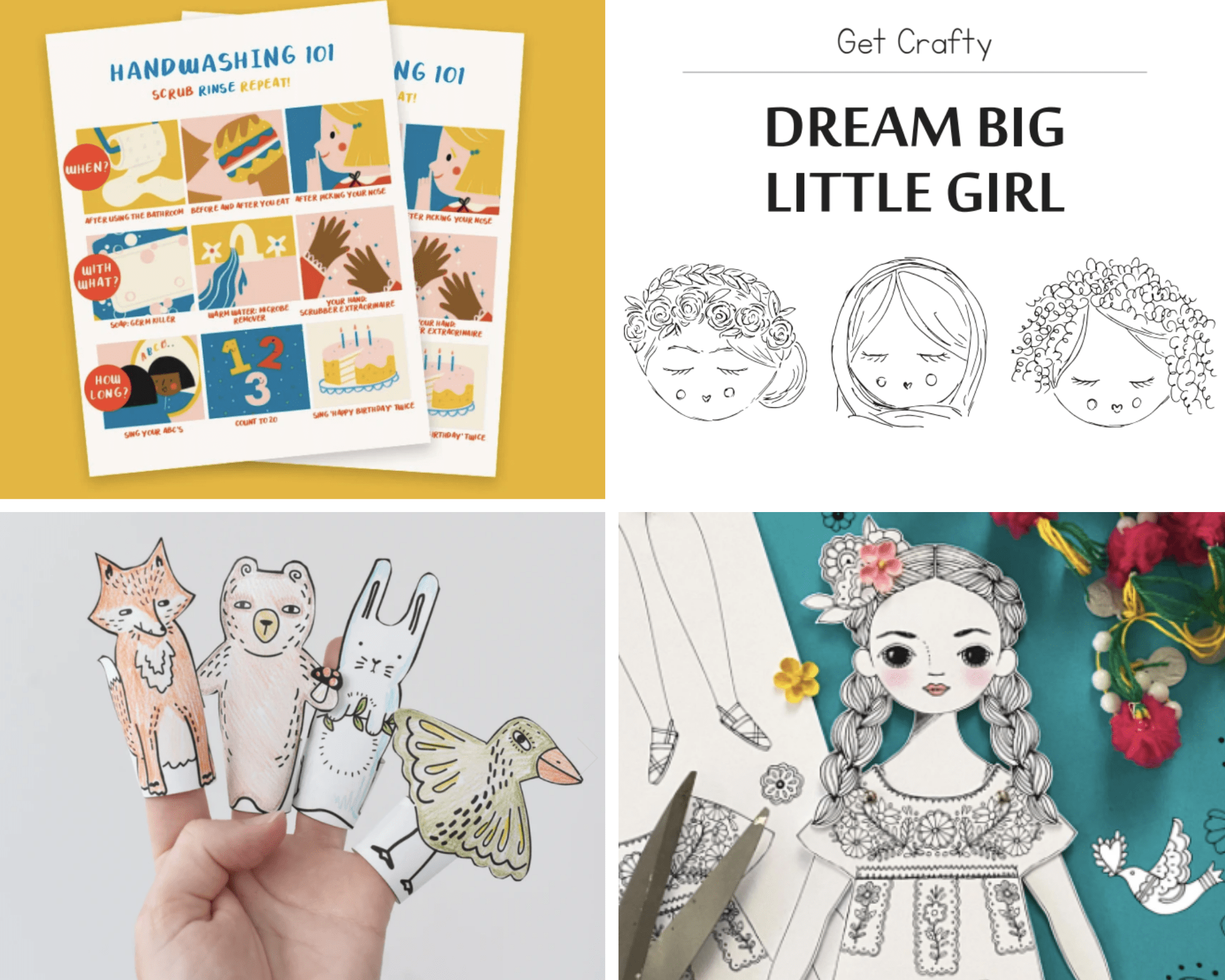 Best Free Printables For Kids 1
