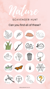 DIY Nature Scavenger Hunt for Kids