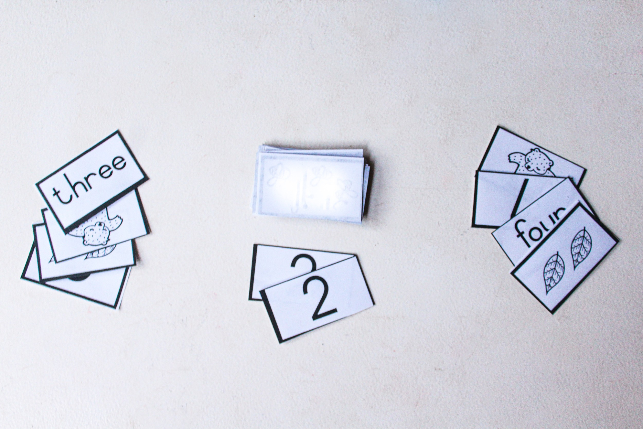Free Printable Number Flash Cards Just A Mamma