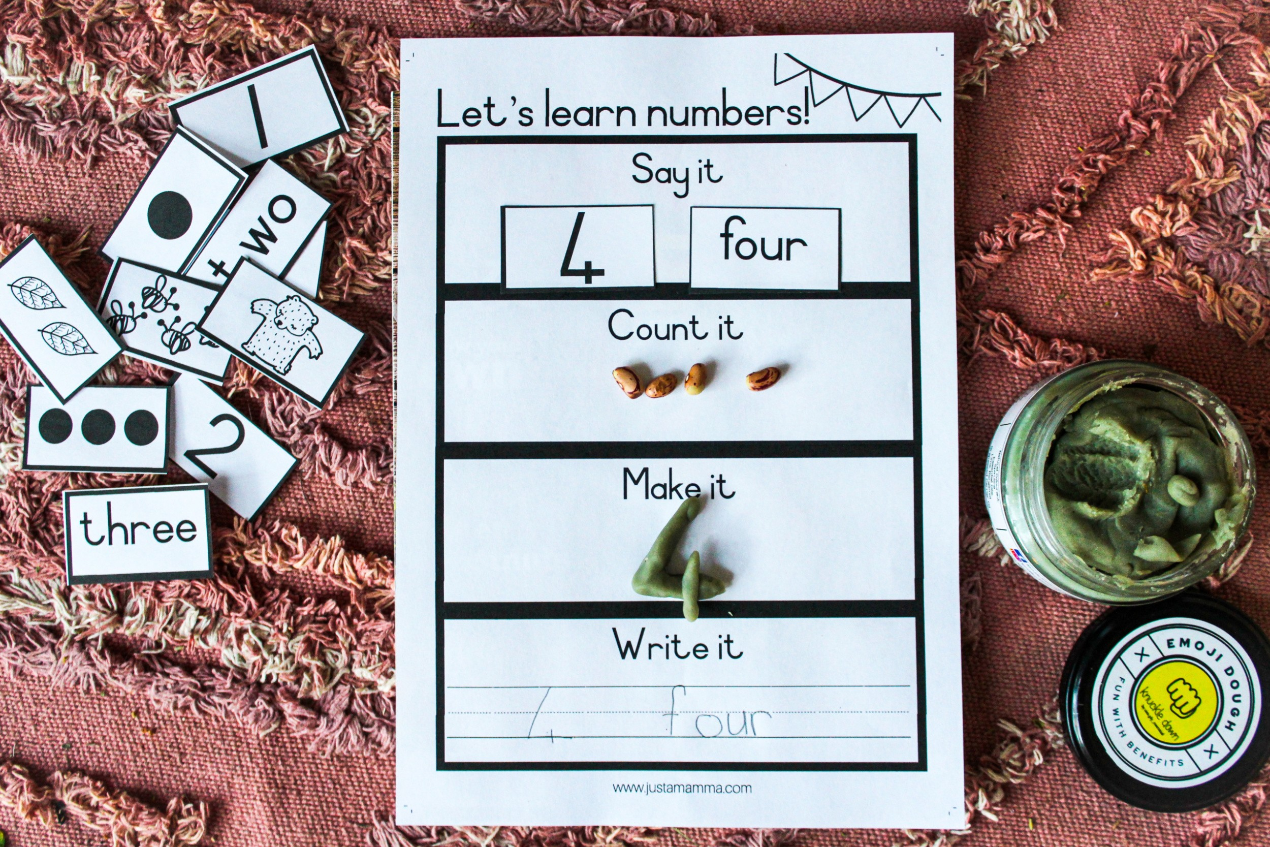 Free Printable Number Flash Cards Just A Mamma 8188