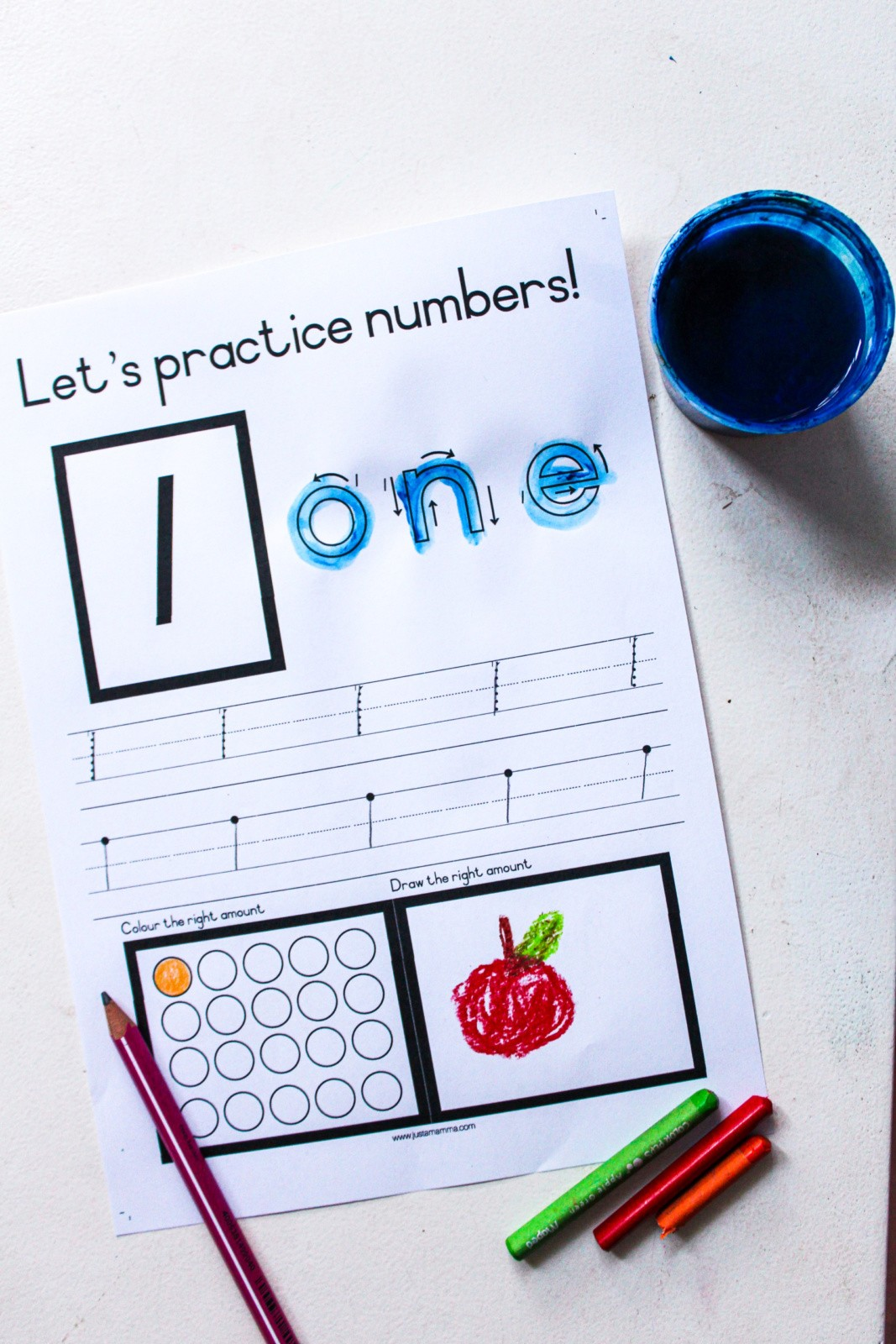 Free Printable Number Flash Cards Just A Mamma 8191