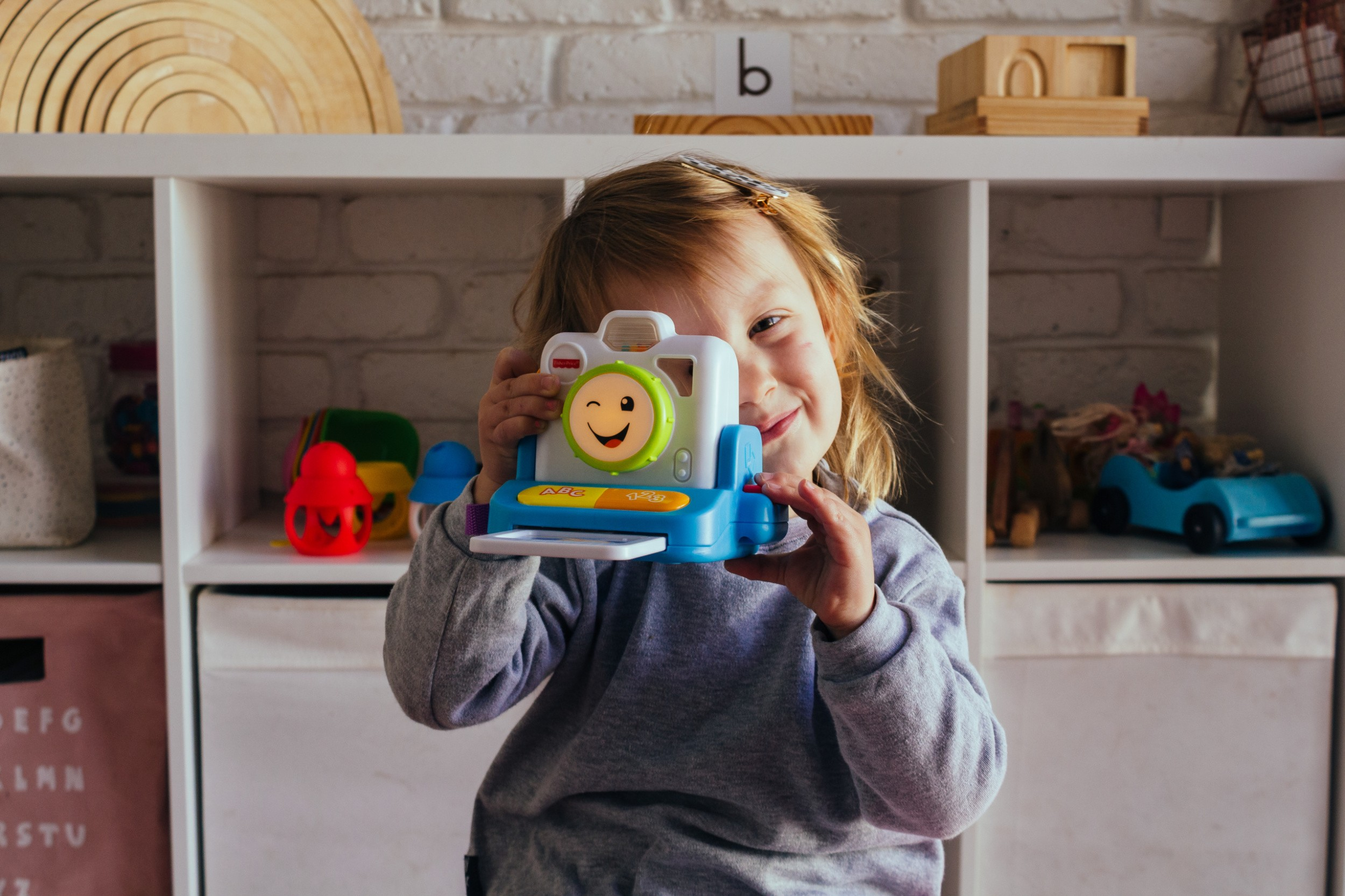 Toy Review: Ava's thoughts on the Fisher Price Instant Camera