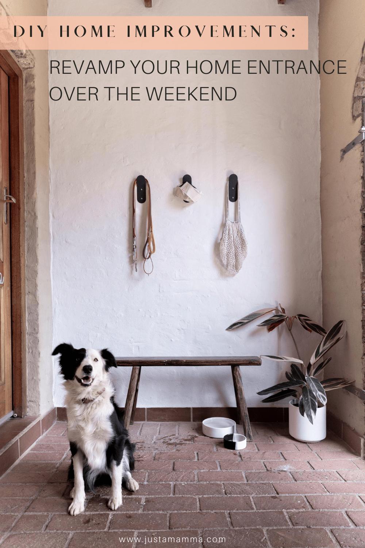 Quick Weekend Diy Home Entrance Makeover