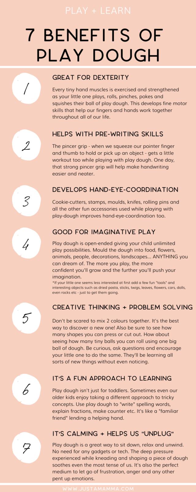 Benefits Of Play Dough 1