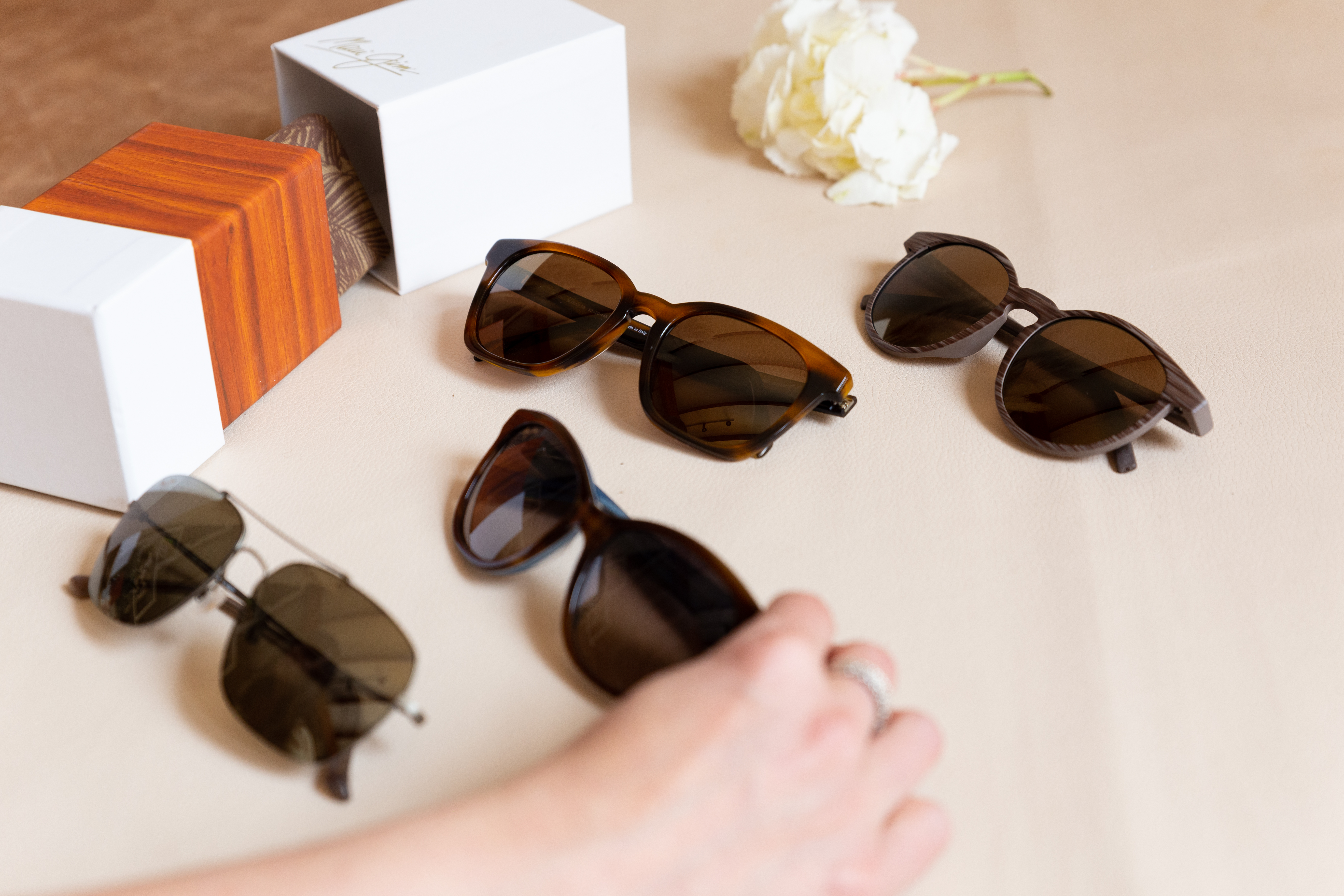 Choosing the right sunglasses for your face shape