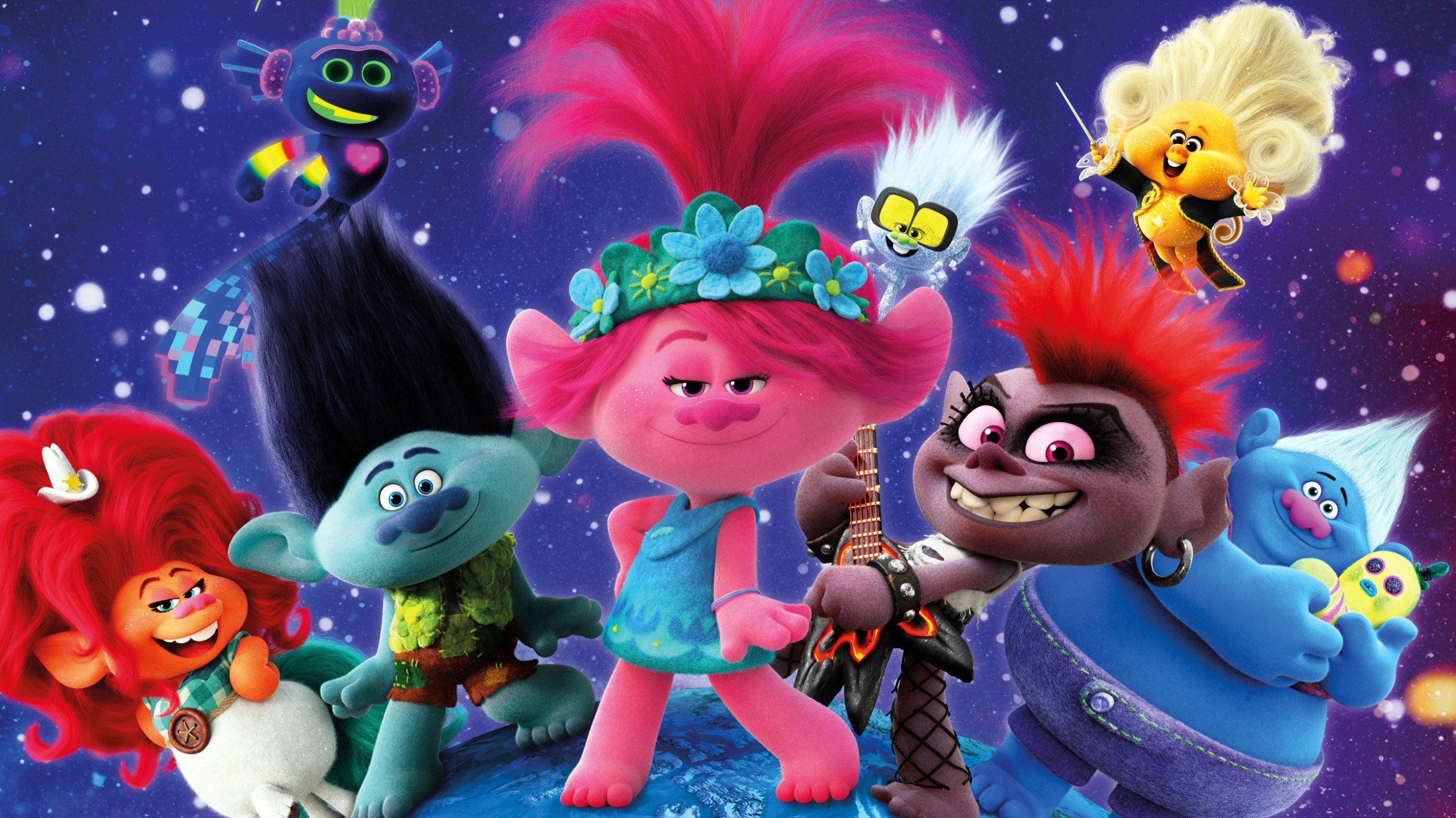 WIN an exclusive Trolls World Tour Movie Experience for the entire family