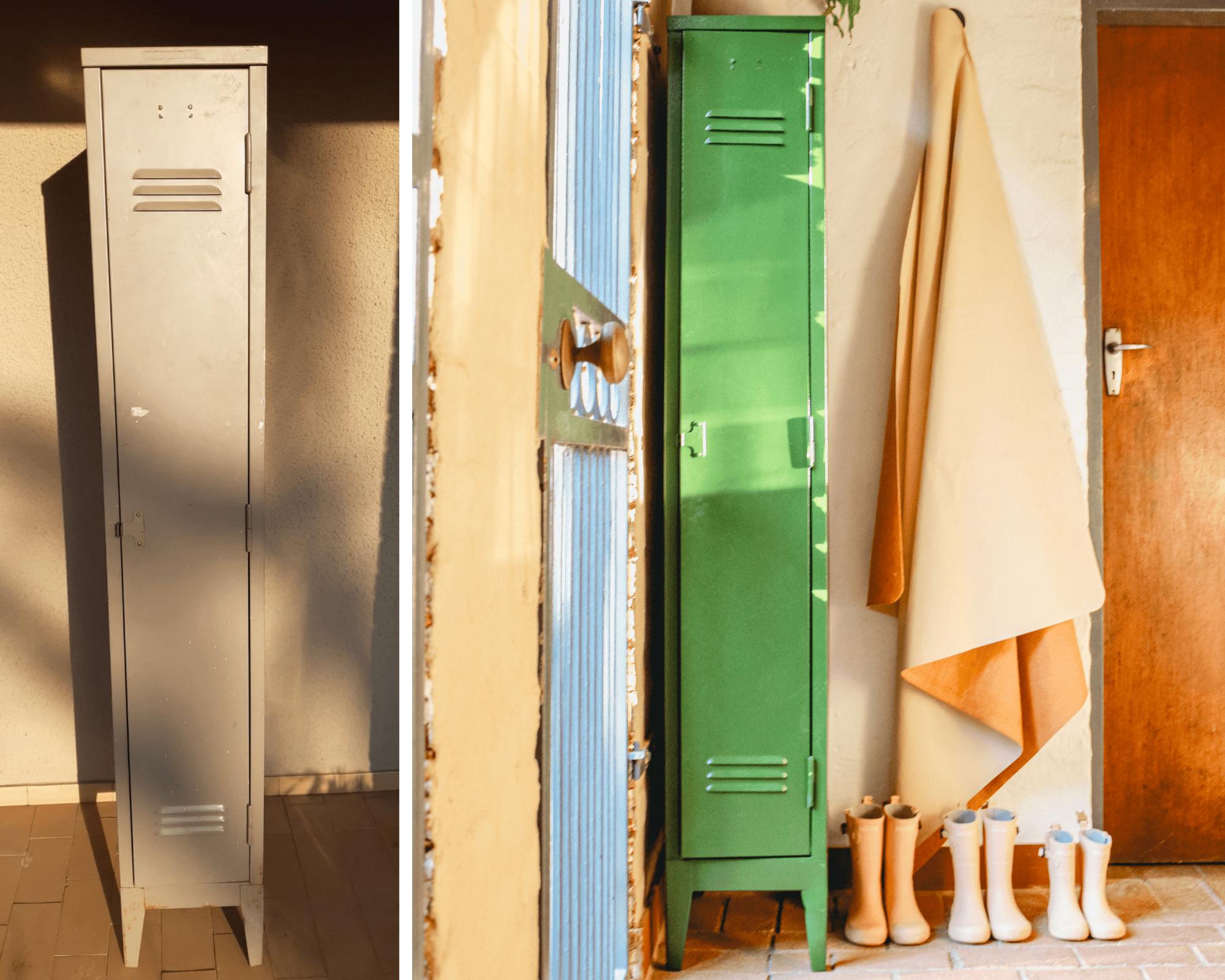 Diy Locker Makeover Mudroom Ideas
