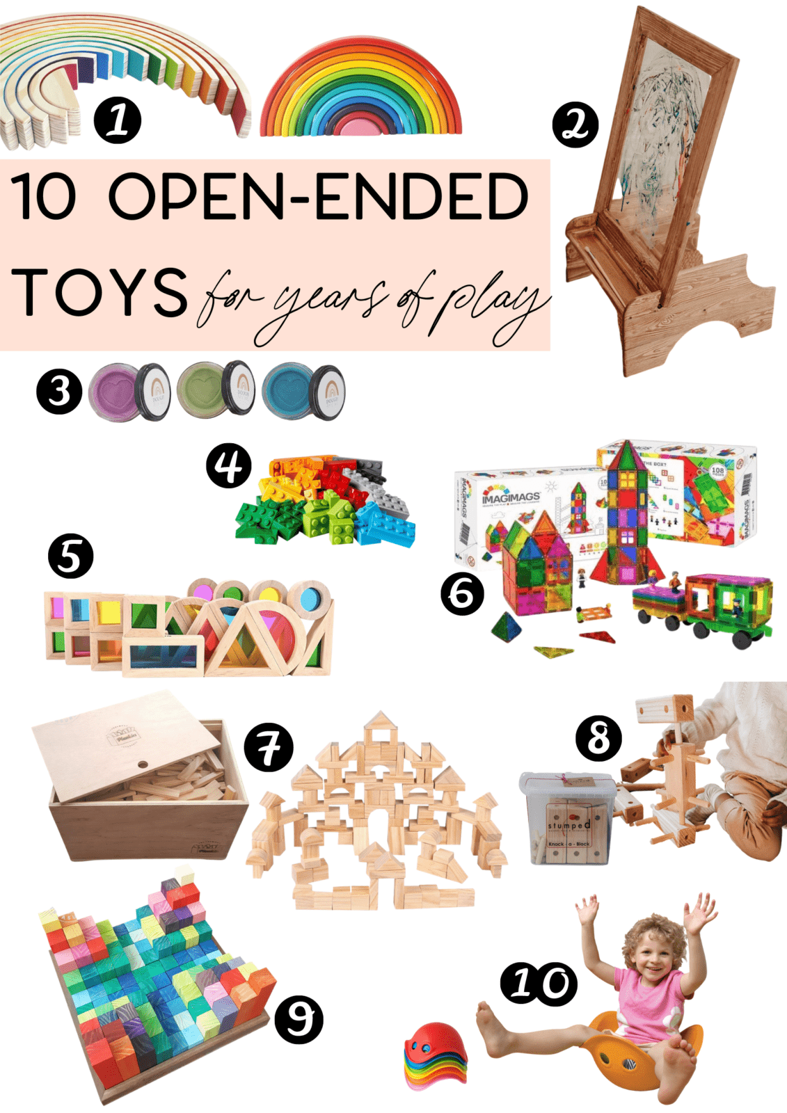 10 Best Open Ended Toys 2
