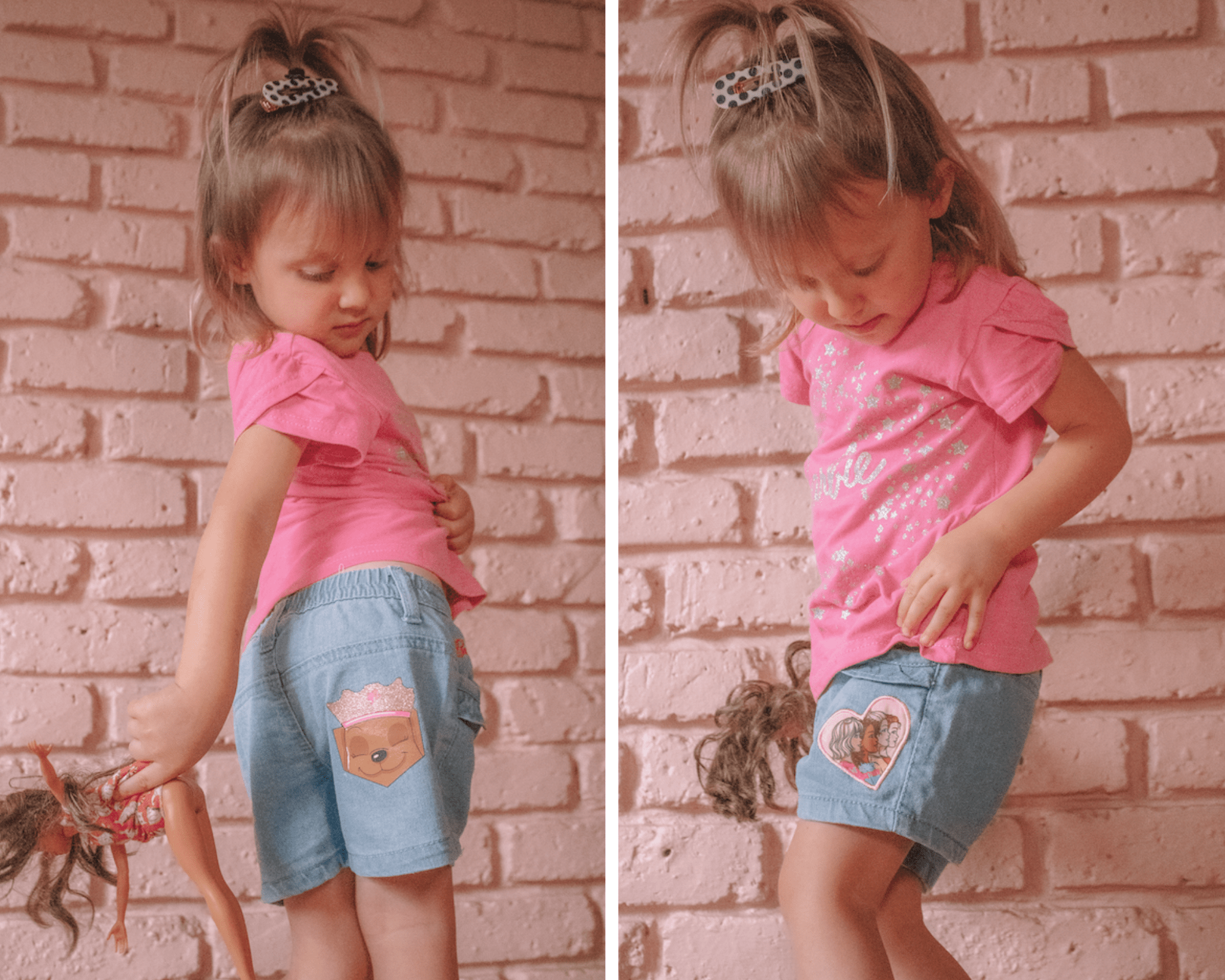 Barbie Shorts And Tee Set