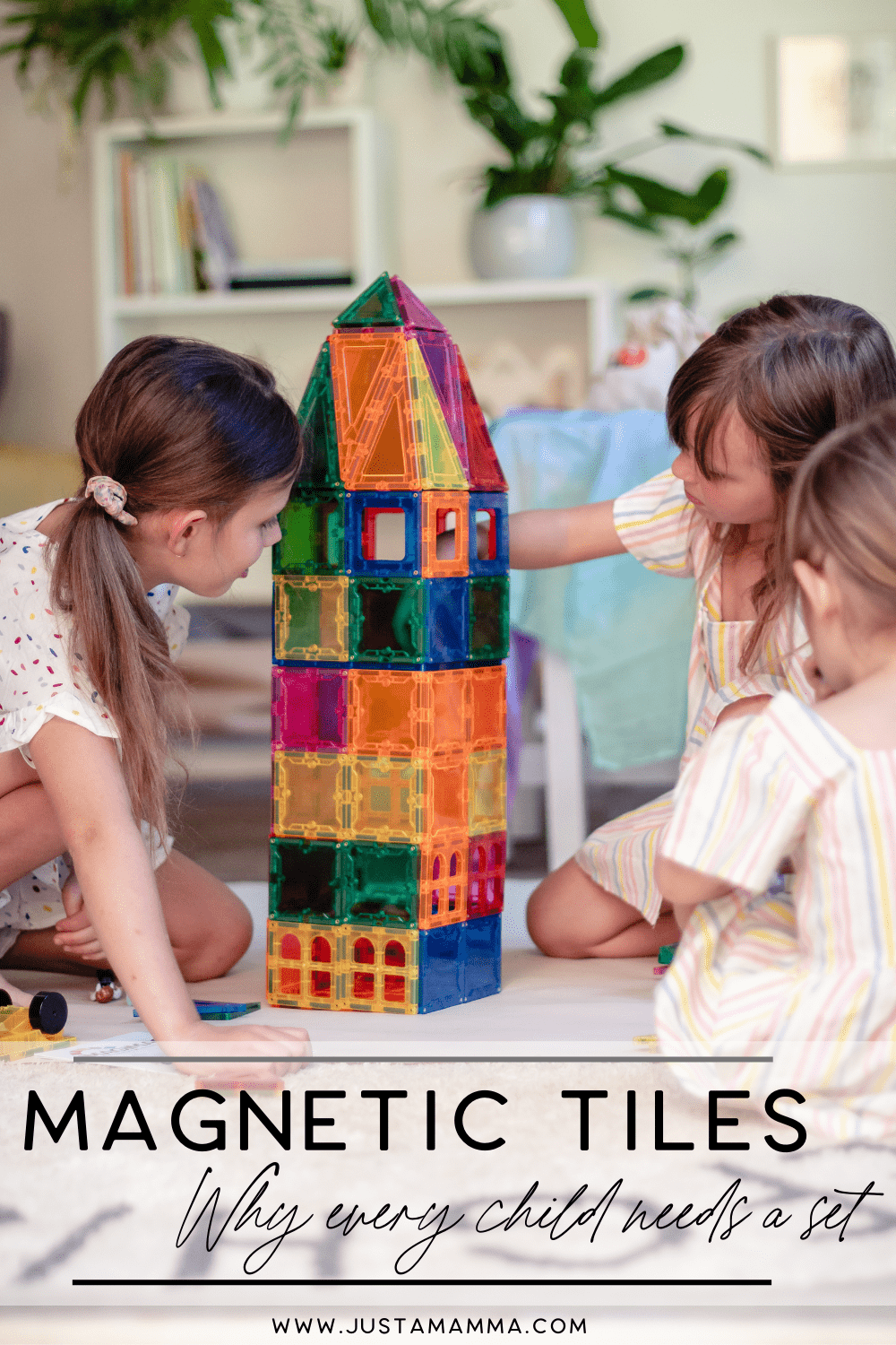 Benefits Of Playing With Magnetic Tiles