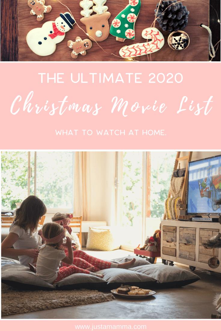 Christmas Movie List 2020