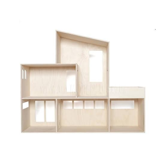 Declan And Leah Modern Wooden Doll House