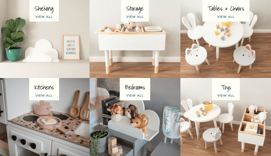 Dovetail Studio Wooden Kids Furniture South Africa