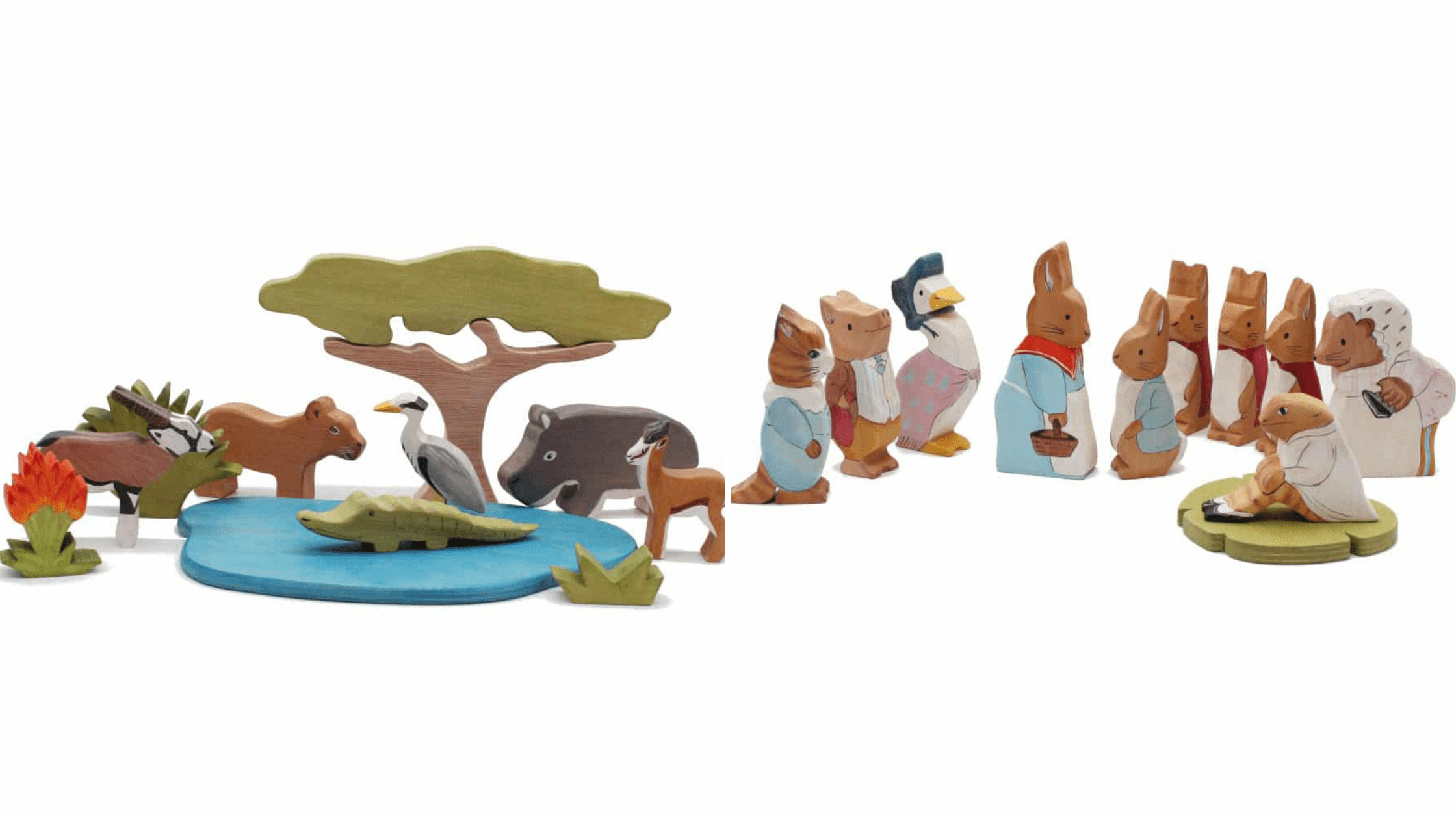 Good Sherpard Wooden Toy Sets
