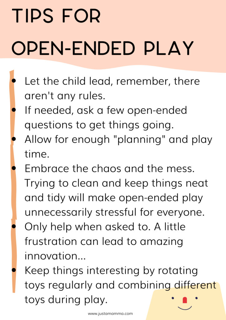 How To Encourage Open Ended Play