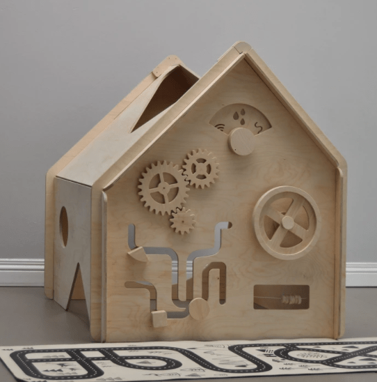Land Of Lark Wooden Play House