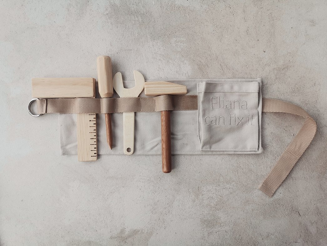 Personalised Wooden Toy Toolkit Made In South Africa