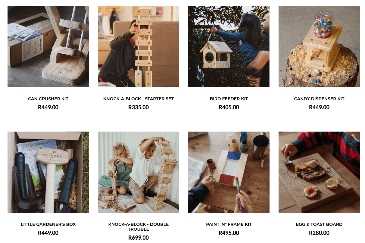Stumped Wooden Toys Made In South Africa