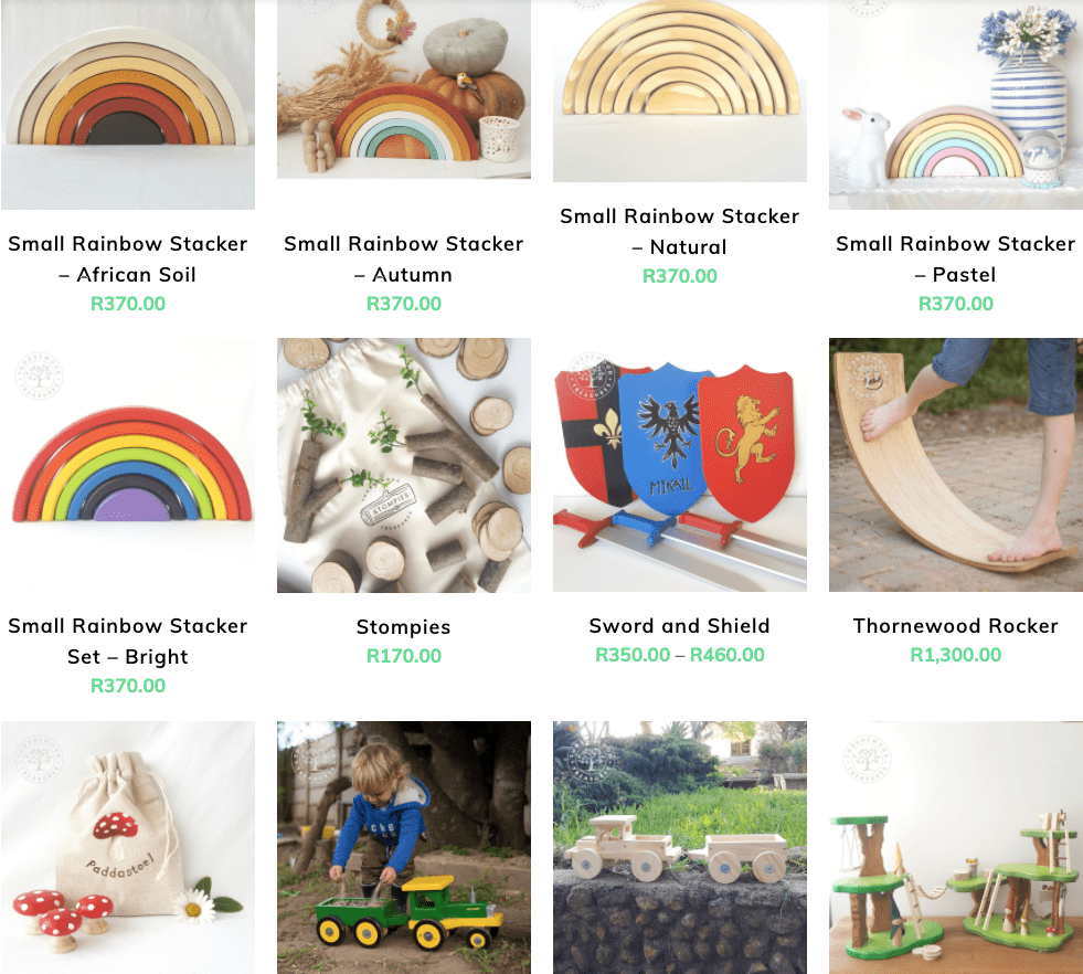 Thornewood Treasure Wooden Toys Made In South Africa