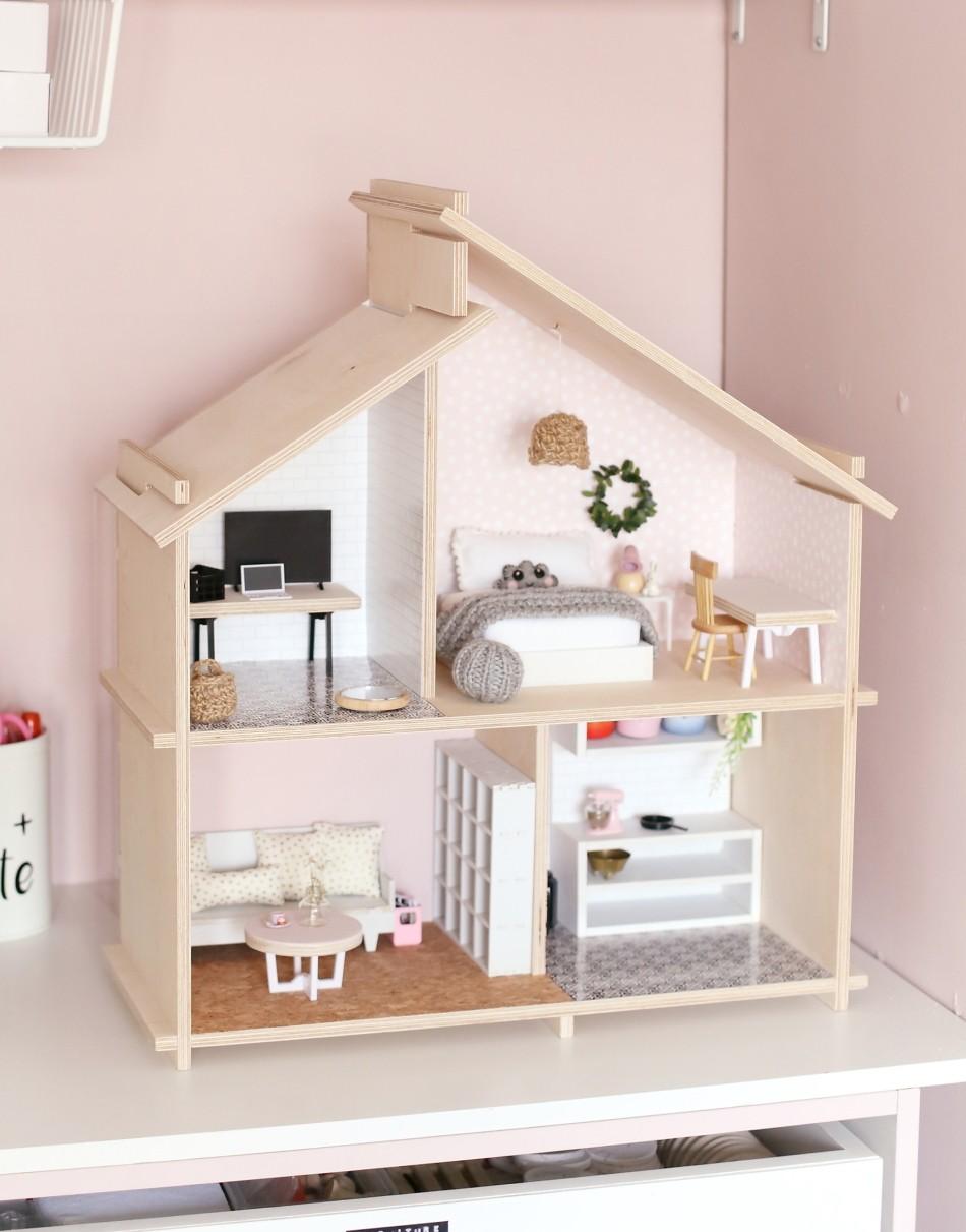 Wooden Dollhouse South Africa My Tiny Dollhouse