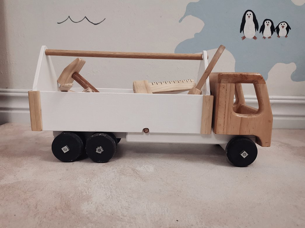 Wooden Toy Struck Made In South Africa