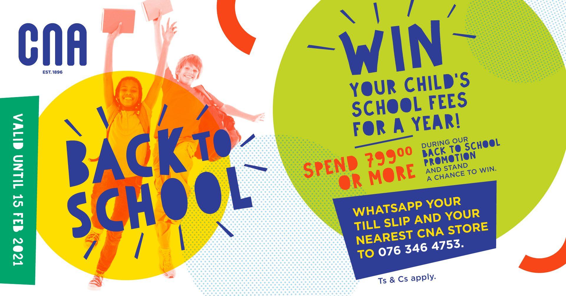 Cna Back To School Campaign