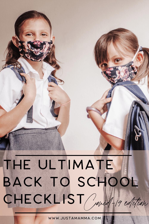 The Ultimate Back To School Checklist Covid 19 Edition