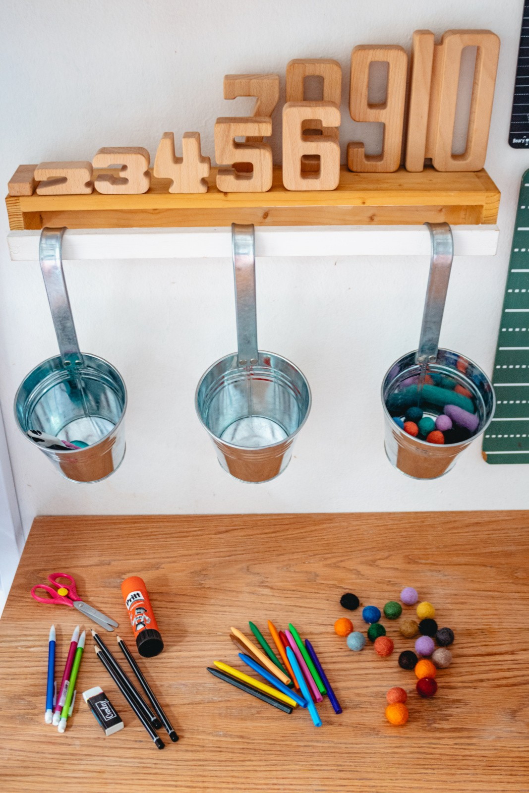 Organising School Stationery For Your Homework Station