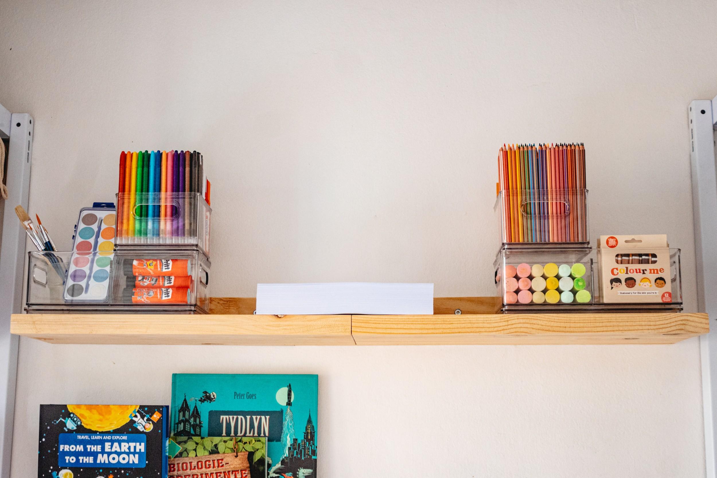 Organising Your Homework Station