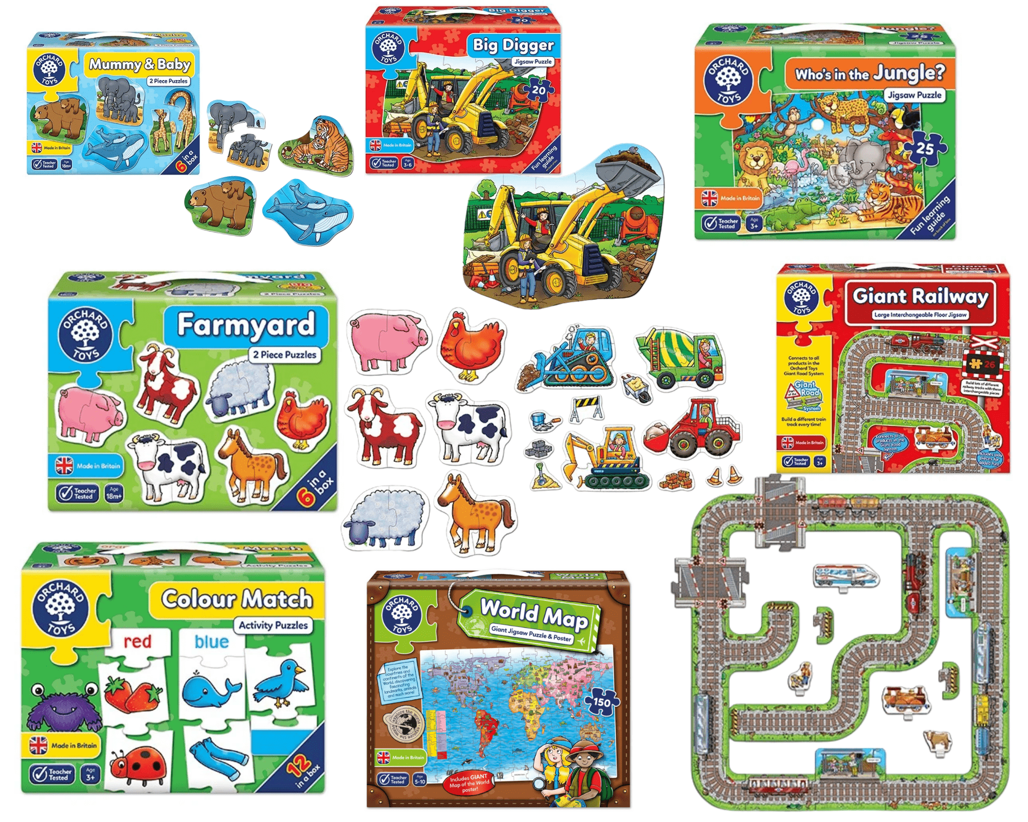 orchard toys puzzles south africa
